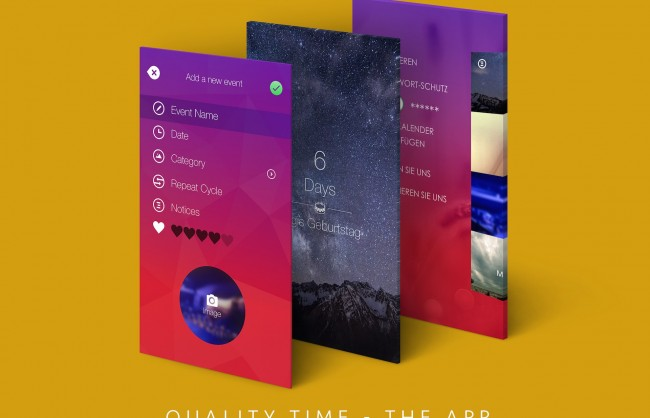 Quality Time App - 01